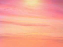 Sunset sky in red orange and blue texture background,Pink sky  sunset  skyline  Panoramic view romantic summer  evening