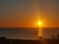 Sunset Sundown Beach sky scenery travel