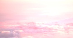 Sunshine Splash over the clouds. Colorful. Sunset colorful. Sky pink and yellow colors. Sky abstract background.