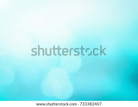 Sunshine with blurred water surface background. #733382407
