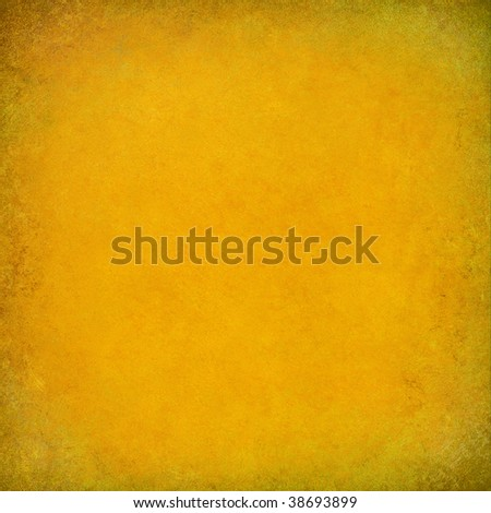 sunshine yellow textured background with grungy frame