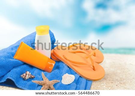 Suntan lotion. #564486670