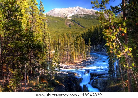 Sunwapta Falls, Jasper, Canadian Rockies