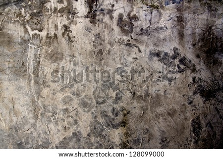 Super-grungy & dirty grey concrete texture.