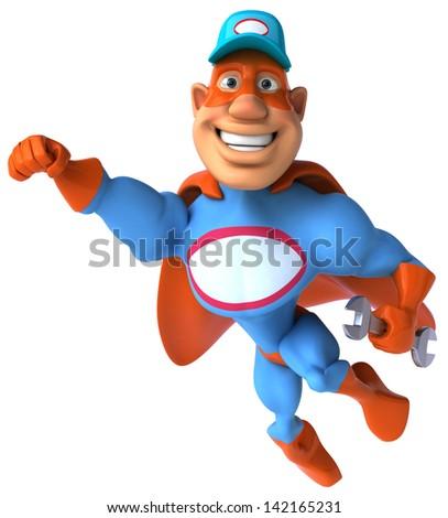 Super mechanic Photo stock ©