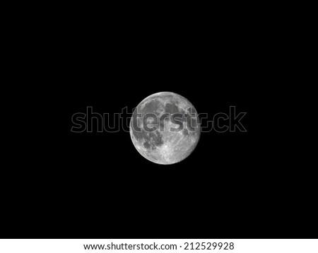 Super Moon phenomenon