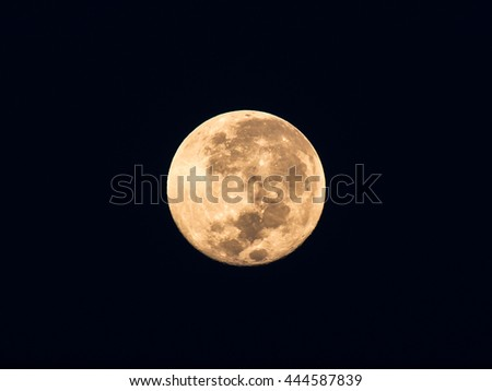 Super Moon with black background #444587839