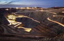 Super Pit in Kalgoorlie, Australia