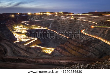 Super Pit in Kalgoorlie, Australia Stockfoto ©