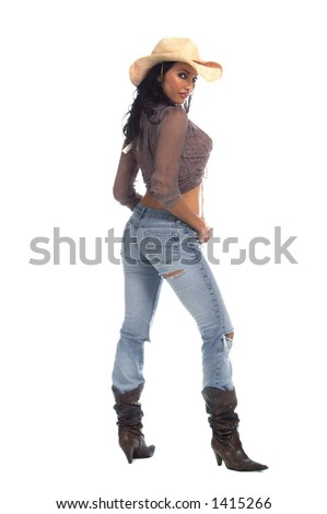 stock photo super sexy rodeo cowgirl in torn jeans boots and cowboy hat 1415266 Cailin Slate Is An ARMY Brat My other blogs: hotwifejackie freebisexualporn ...