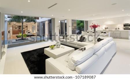 Superb house interior #107189087