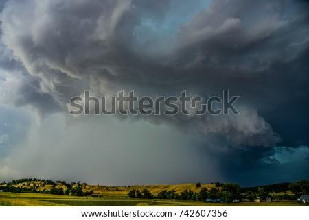 Shutterstock supercell thunderstorm