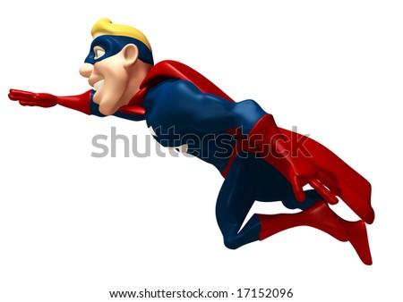 Superhero - Shutterstock ID 17152096