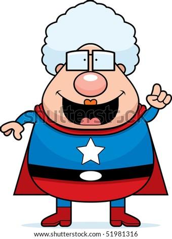 Superhero Grandma Idea