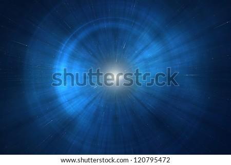 Supernova - Birth of a star in a distant galaxy