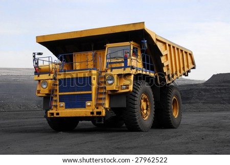 Supersize autodump-body truck