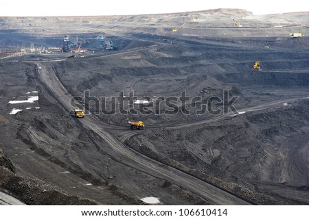 Supersize transport in coal mine