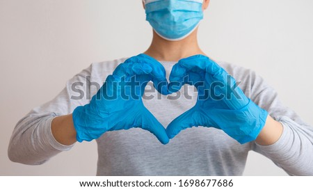 Support for doctors and nurses. Doctor for the heart. Love to our pancreas. Love our medical professionals.