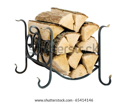 Support for fire wood