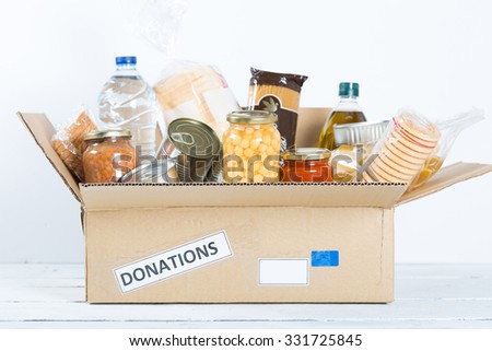 Supportive housing or food donation for poor #331725845