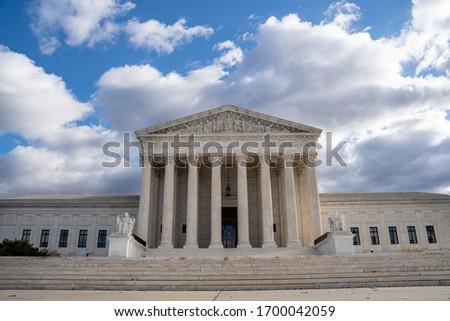 Supreme Court Building in Washington  Foto stock ©