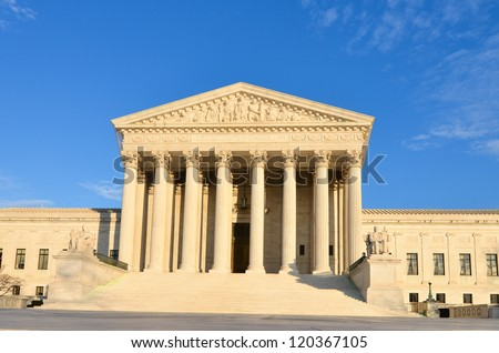 Supreme Court building - Washington DC, United States