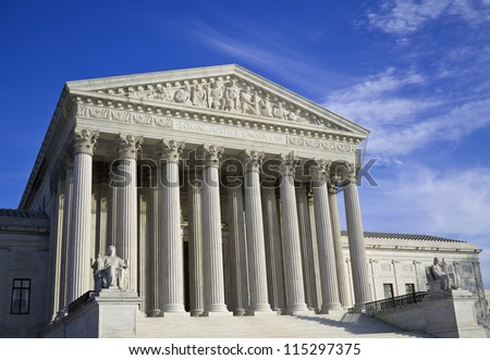 Supreme Court in Washington, DC, United States