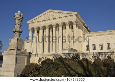 Supreme Court in Washington, DC, United States of America