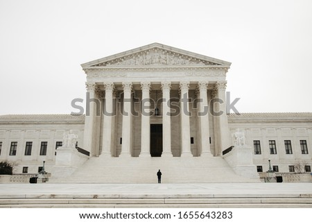 Supreme Court of the United States of America Foto stock ©