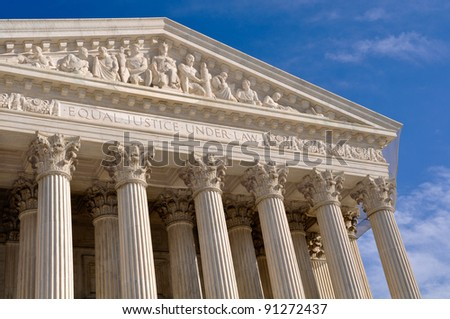 Supreme Court of United States - stock photo