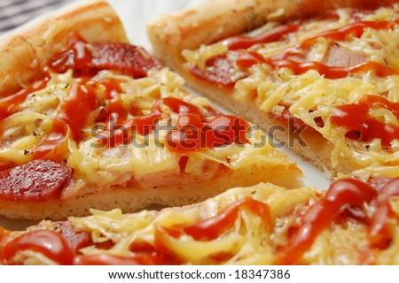 Supreme Pizza (shallow DOF)