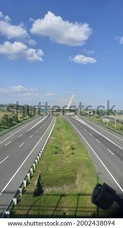 Surakarta, Indonesia- July 5th 2021- Fasilitas jalan tol yang sangat indah sekali Stock fotó ©