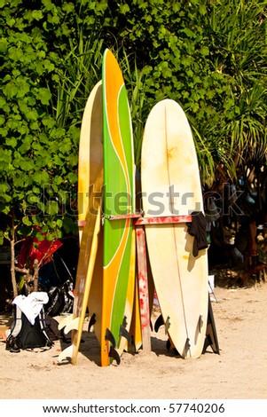 Surf boards, Kuta beach, Bali, Indonesia