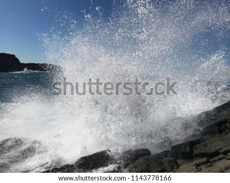 Surf Spray water #1143778166