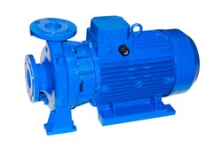 Surface centrifugal pump for pumping clean water