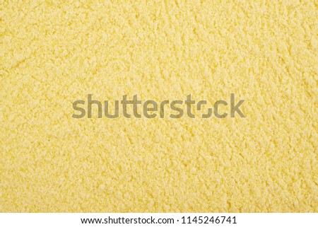 Surface coated with the corn flour #1145246741