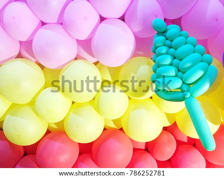 Nice Balloon Wall Decorations Images - Wall Art Collections ...