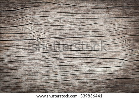 Surface eroded by time,Old wood background. #539836441