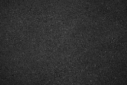 Surface grunge rough of asphalt, Tarmac grey grainy road, Texture Background, Top view