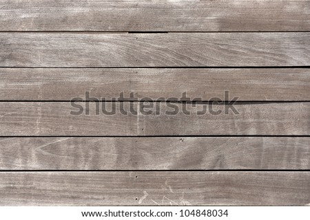 Surface made of wooden boards