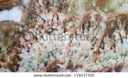 Surface marble stone pattern. Marble is a metamorphic rock that forms when limestone is subjected to the heat and pressure #518637100