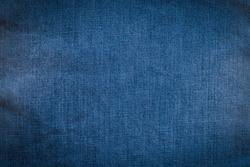 Surface of blue Jeans for design