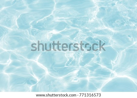 surface of blue swimming pool,background of water in swimming pool.