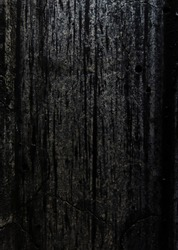 surface of dark congrete wall texture