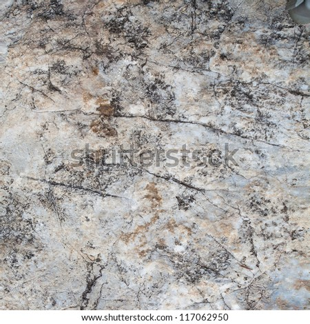 surface of the stone with gray tint