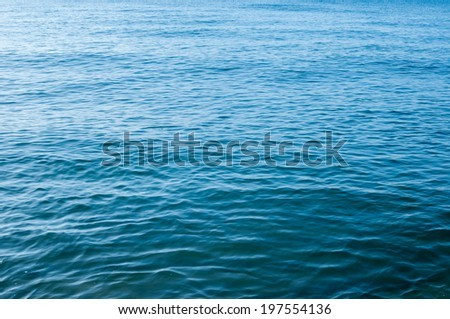 Surface of the water in tropical sea.