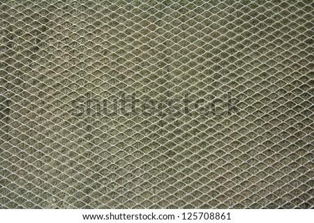 Surface profile and texture of the novel filter.