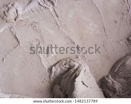 Surface Wet cement for background. Wet cement mixed for building.