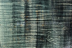 Surface with layers of paint for the backdrop. Vertical and horizontal stripes. Color - Celeste, Hue Green, Cinder, Hue Gray. Rust.