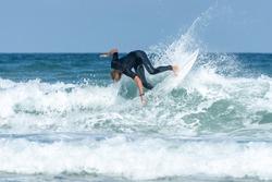 Surfer in Lacanau (Gironde, France)
